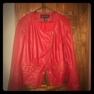 Red Ashley Stewart jacket